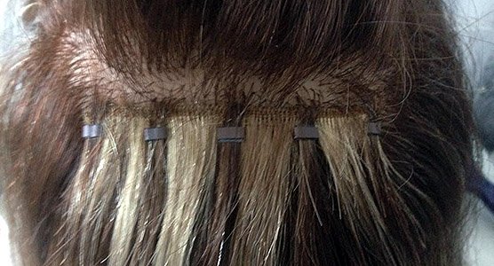 Micro Weft Hair Extensions Salon La Reine