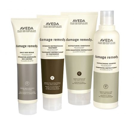 Aveda damage remedy products