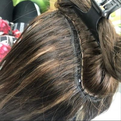 hair system for hair loss at salon la reine