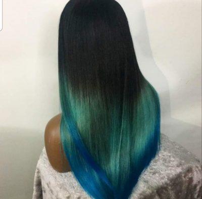 custom coloured wig
