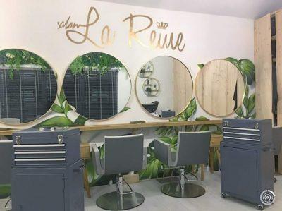 Salon La Reine interior Aveda concept salon
