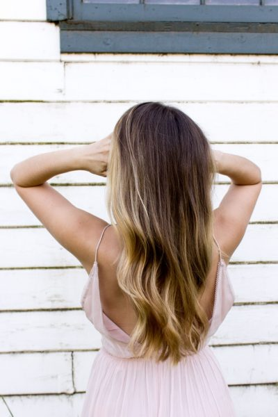picture of woman with long hair